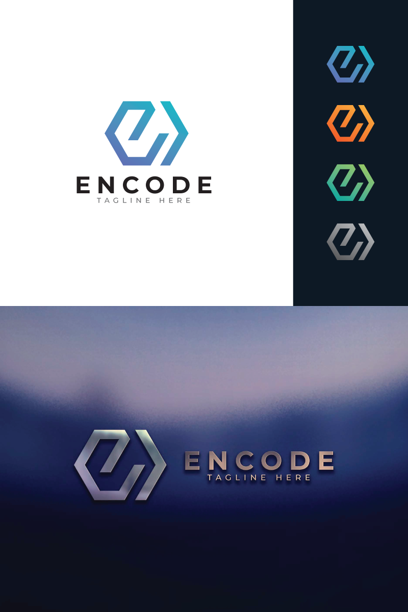 Encode Logo Template - screenshot