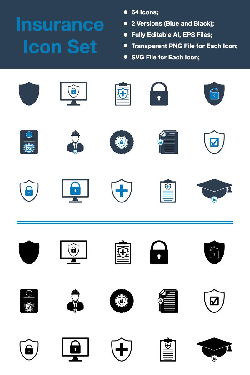 Insurance - Premium Vector Iconset Template