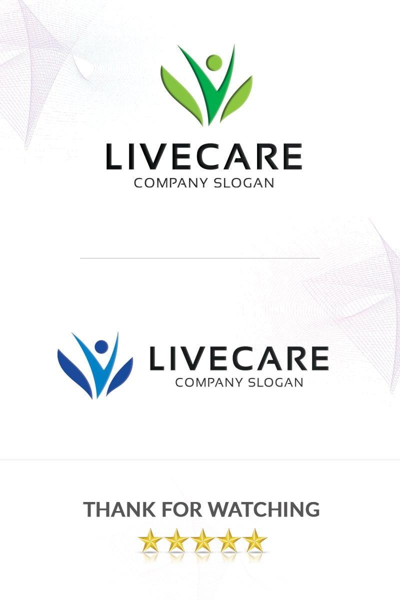 Livecare Logo Template - screenshot