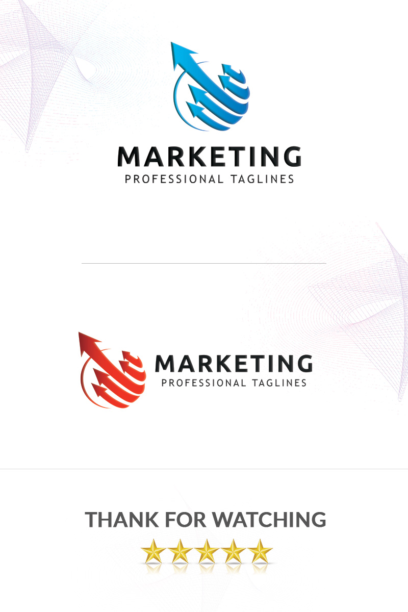 Marketing Logo Template - screenshot