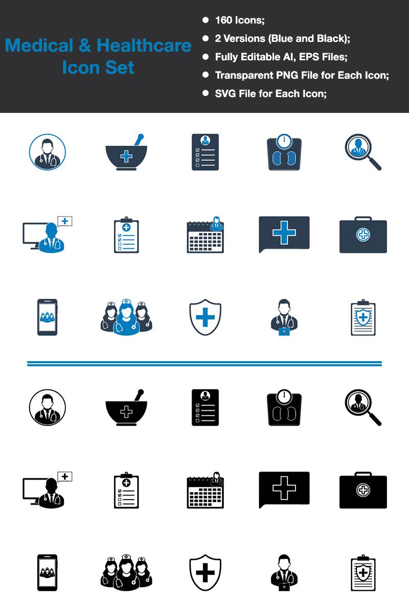 Medical & Healthcare - Premium Vector Iconset Template - screenshot