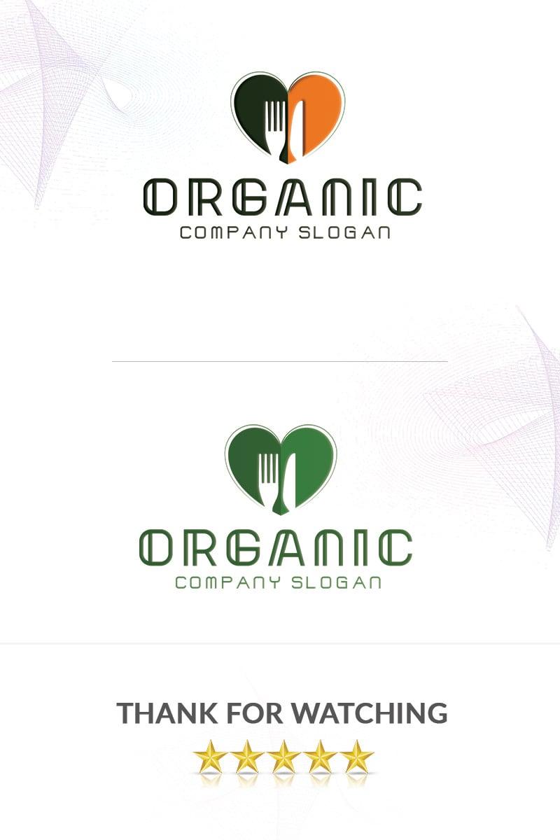 Organic Food Logo Template - screenshot