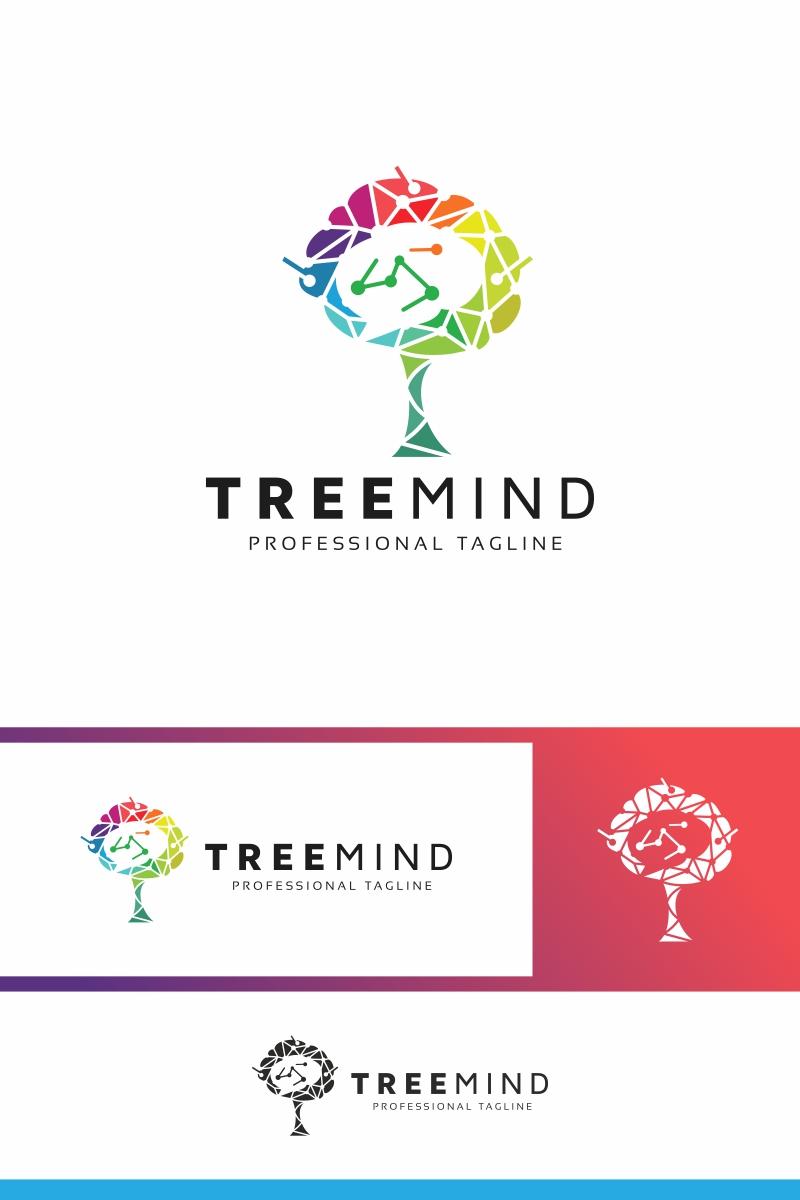 Tree Mind Logo Template - screenshot
