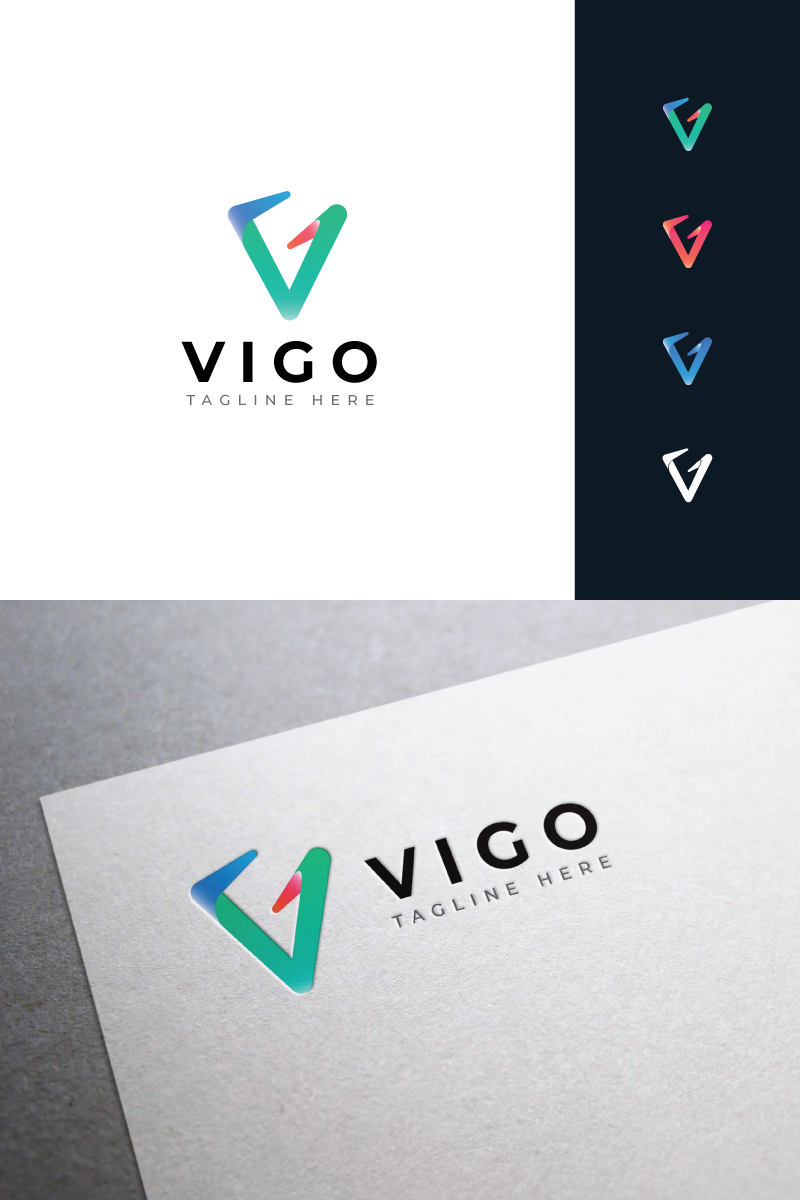Vigo Logo Template - screenshot