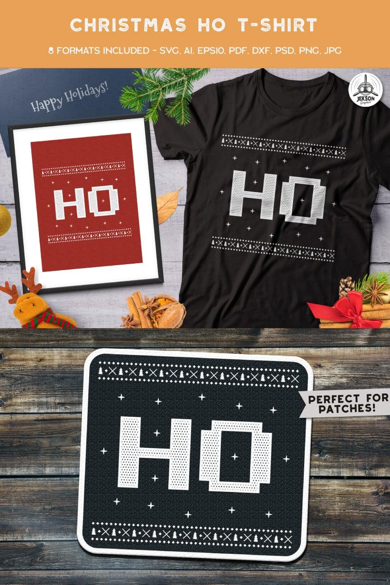 Christmas Ho T-shirt - screenshot