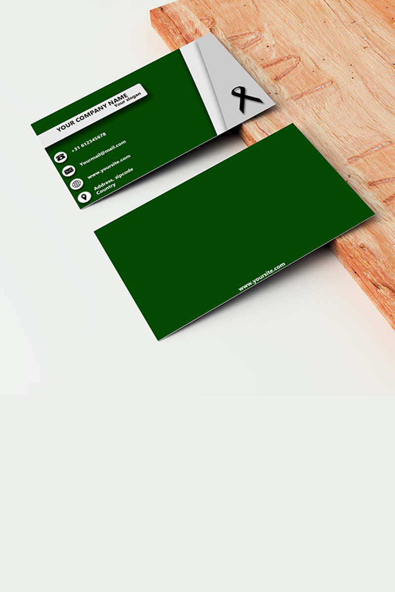 Company businesscard Corporate Identity Template