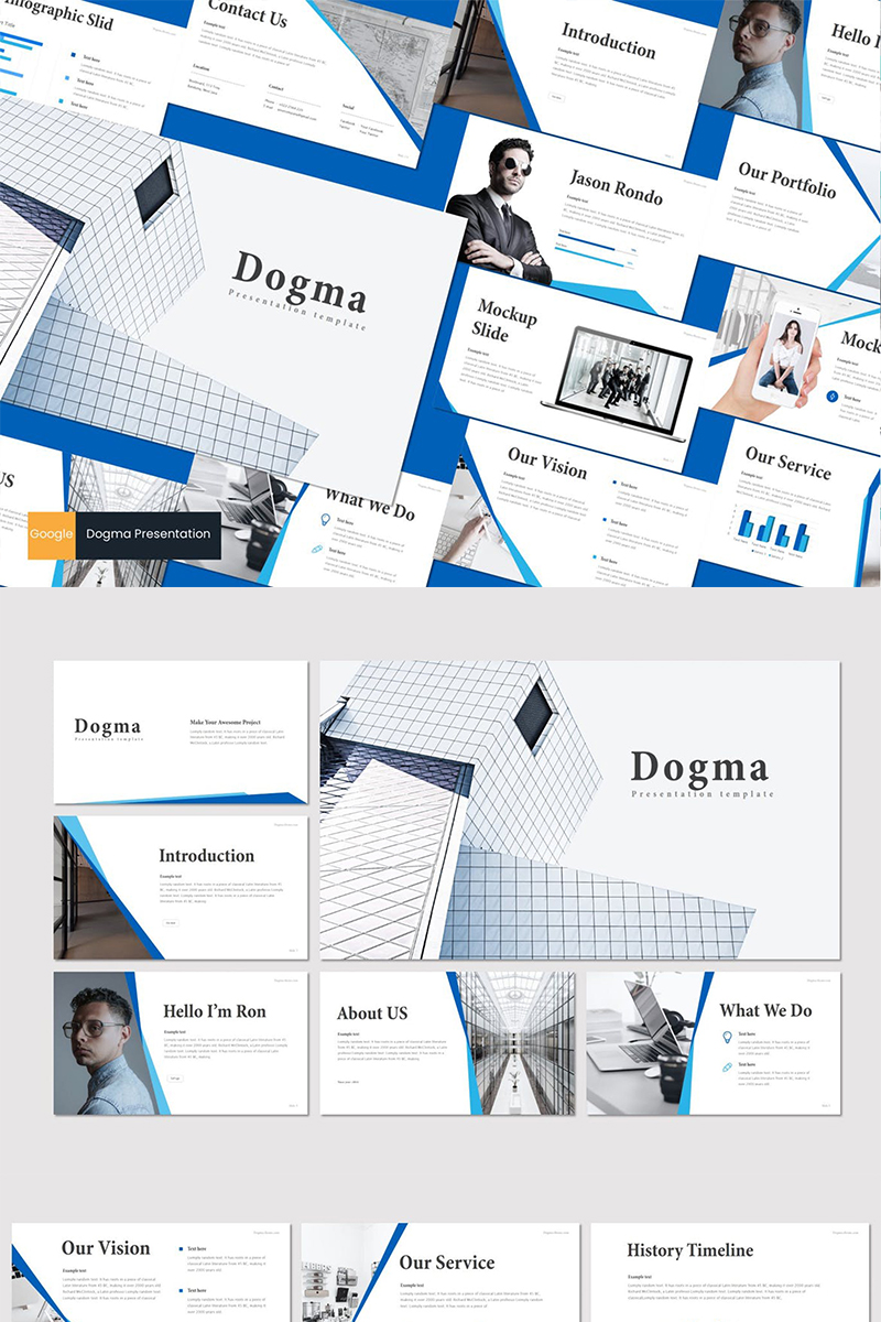 Dogma Google Slides #88649 - Ekran resmi