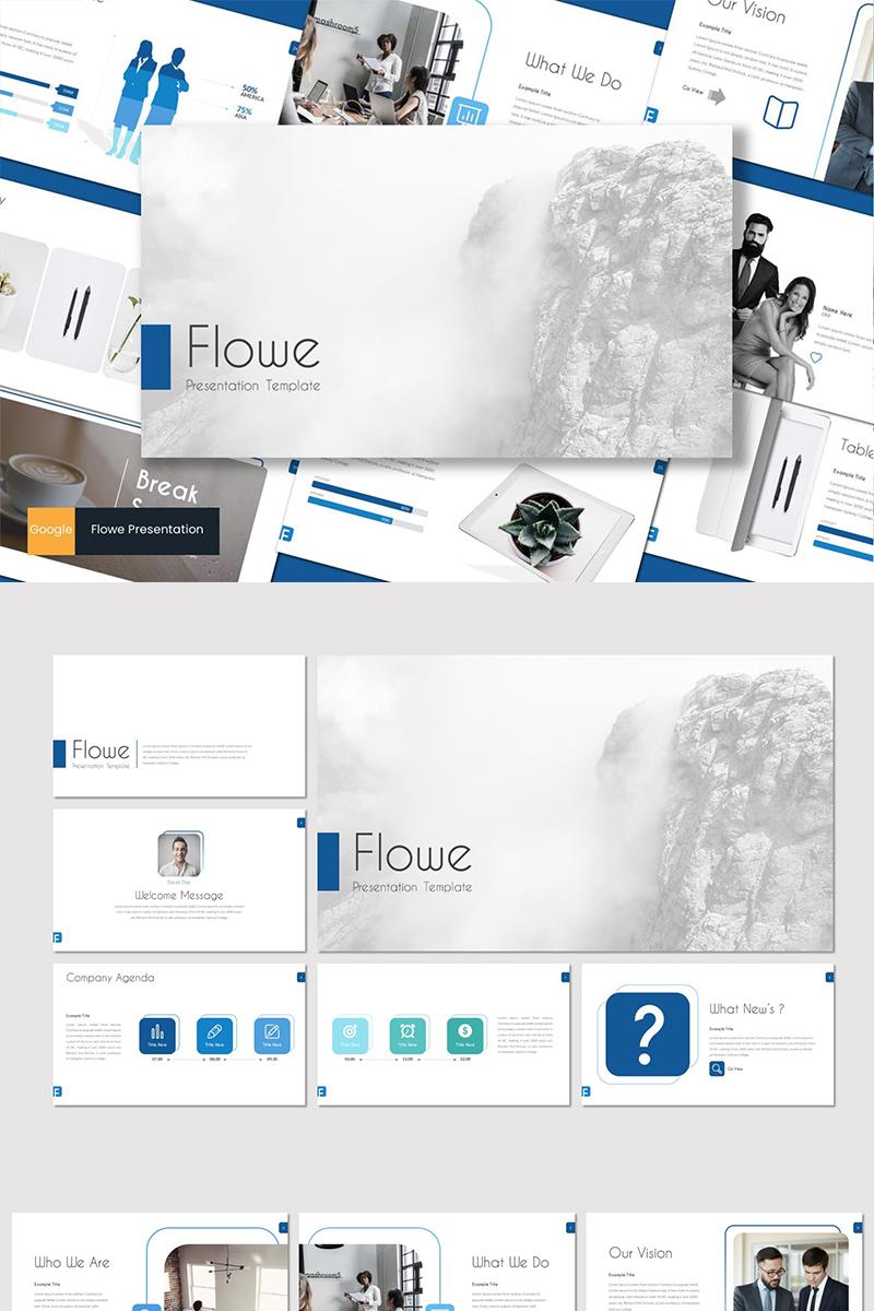 """Google Slides """"Flowe"""" #88647"""
