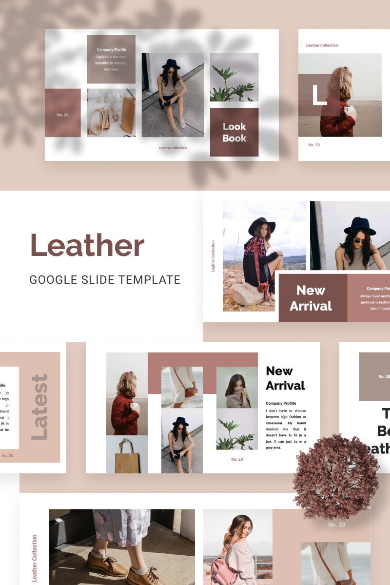 "Google Slides ""LEATHER"" #88655 - screenshot"