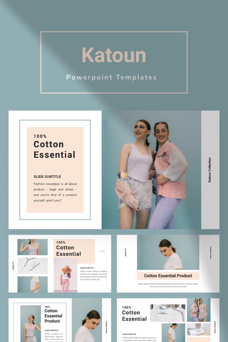 KATOUN PowerPoint Template - screenshot