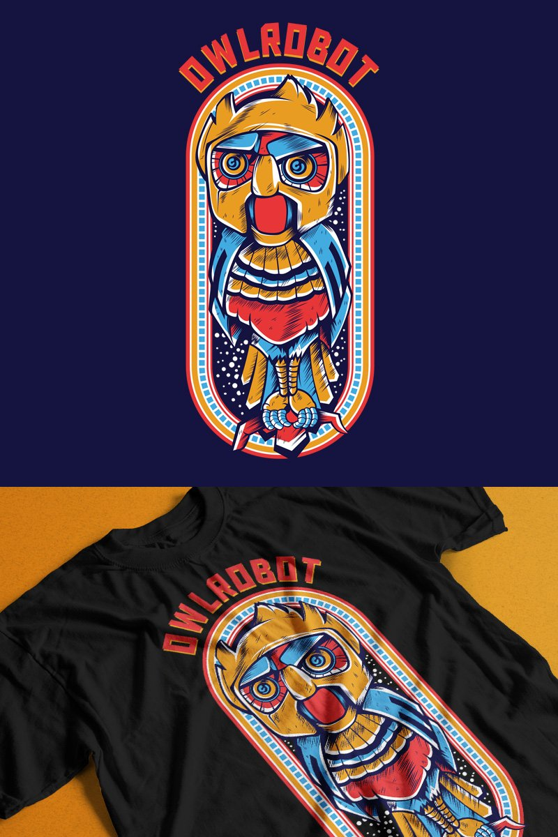 Owl Robot T-shirt