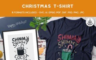 Shimmy Shimmy Hot Cocoa - T-shirt Design