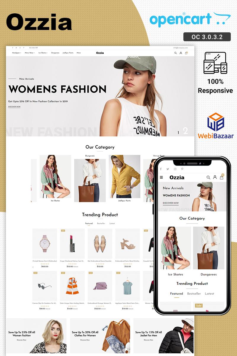 Ozzia Fashion OpenCart Template