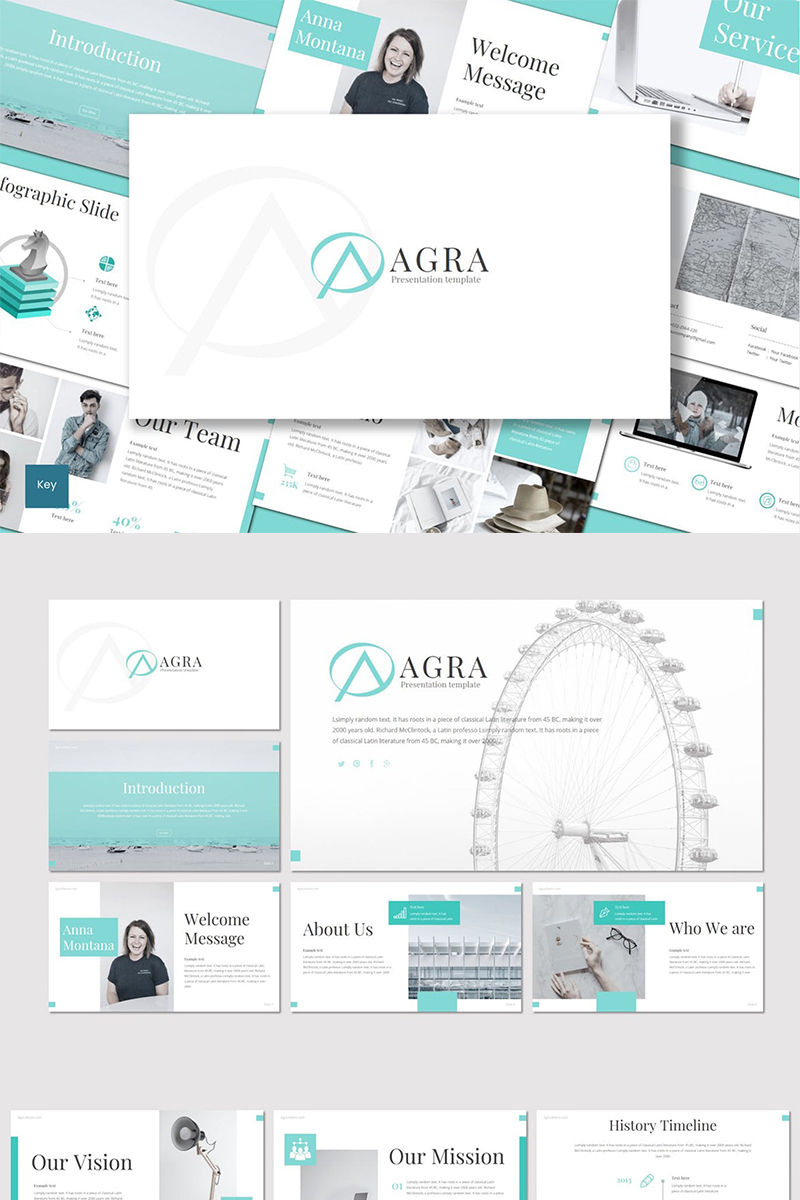 Agra Keynote Template #88846