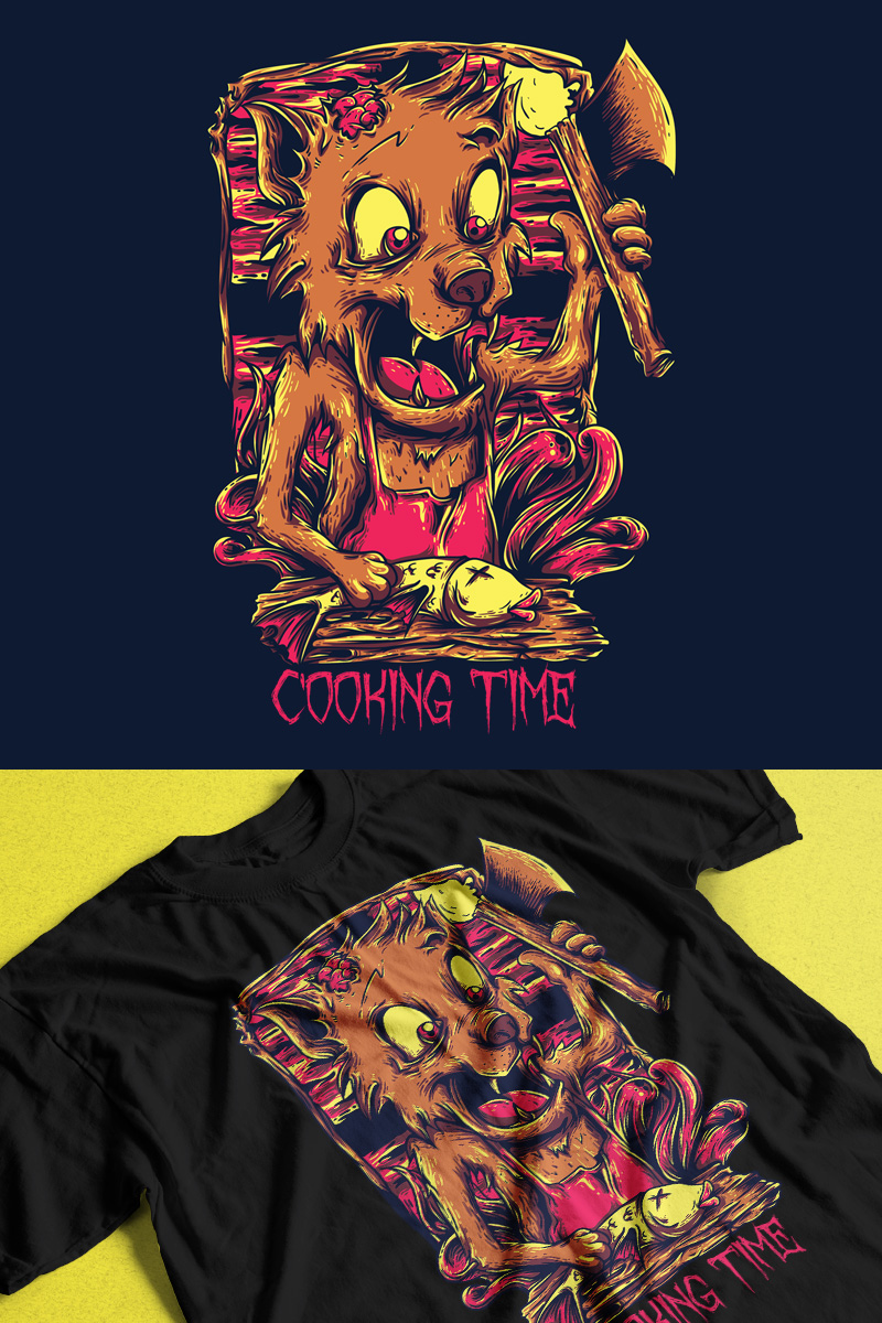 Cooking Time T-shirt #88863