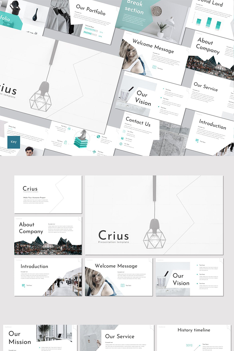 Crius Keynote Template