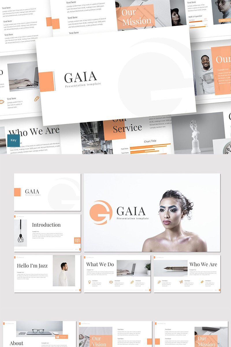 Gaia Keynote Template #88836