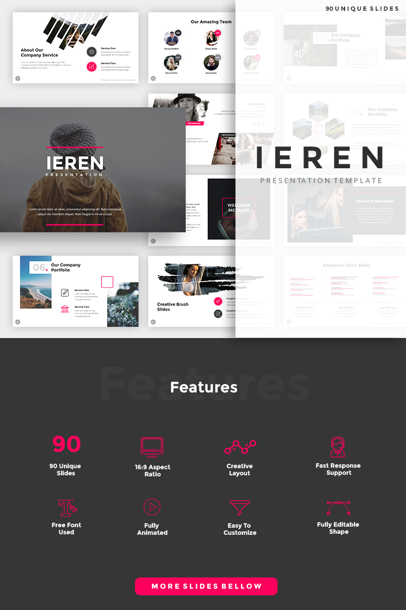Ieren Creative PowerPoint Template