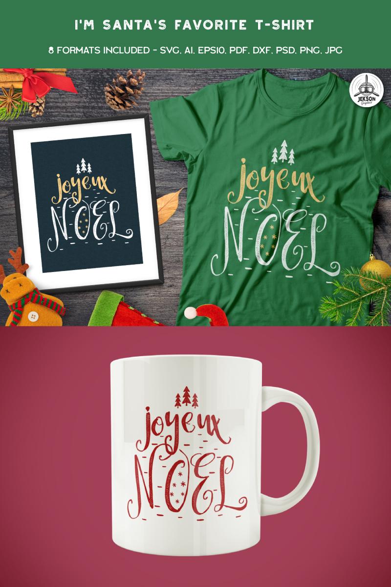 Joyeux Noel T-shirt 88850