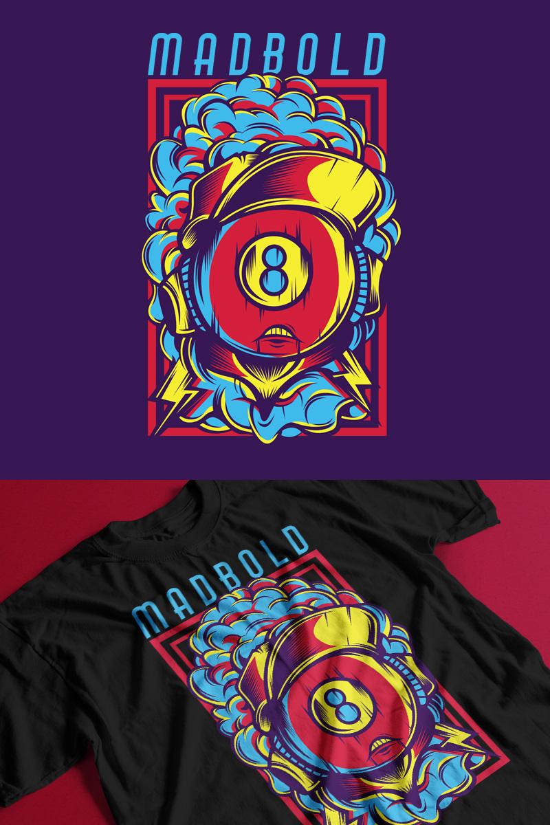 Madbold T-shirt №88862