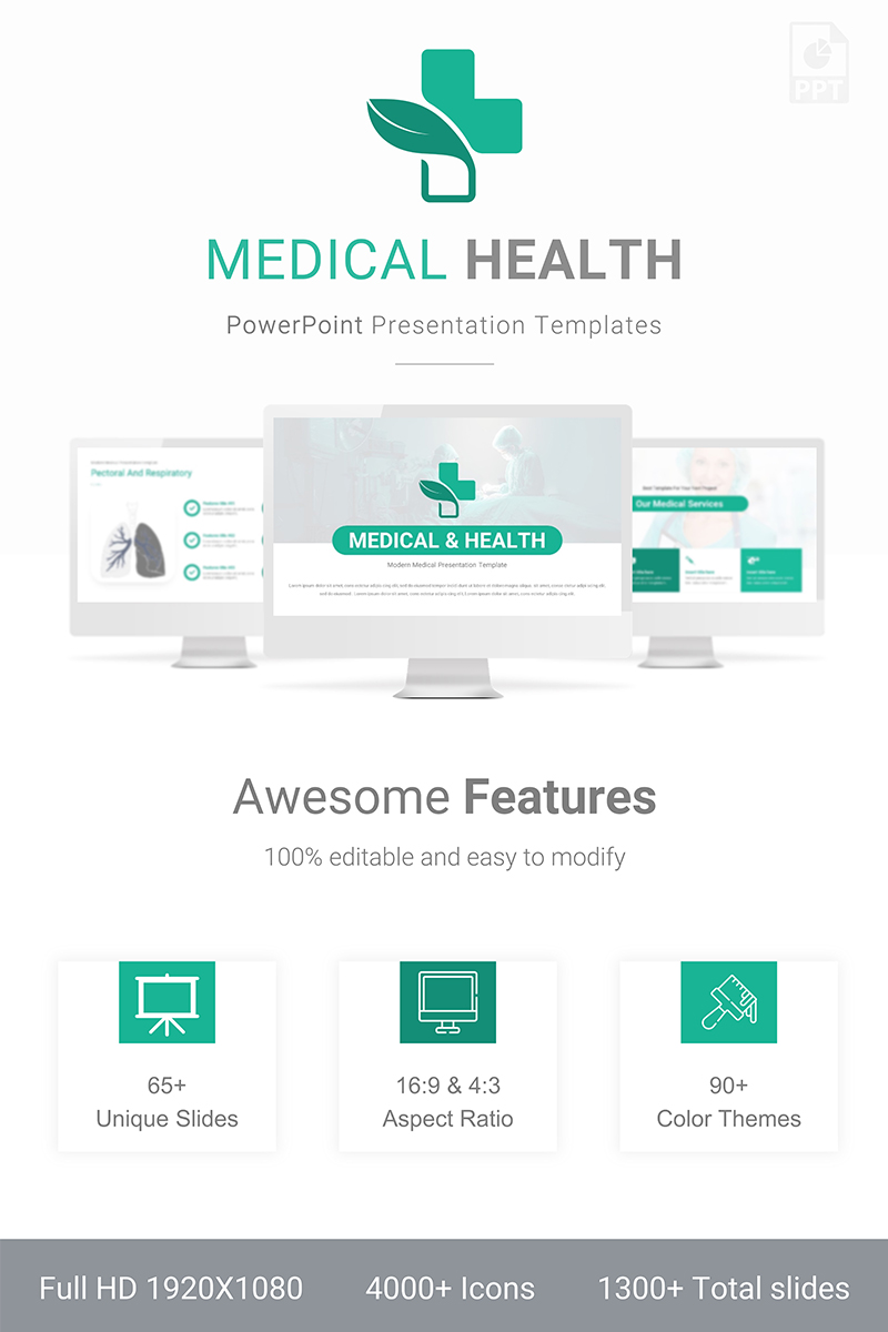 Medical & Health Presentation PowerPoint Template