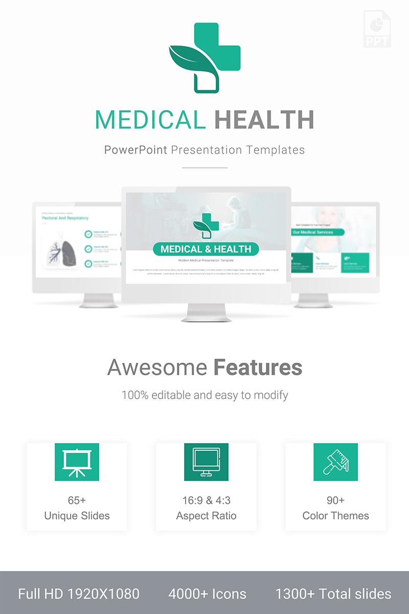 Medical & Health Presentation Template PowerPoint №88802