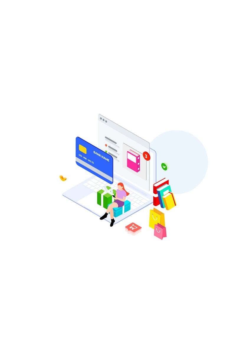 Online payment 3 Illustration 88882
