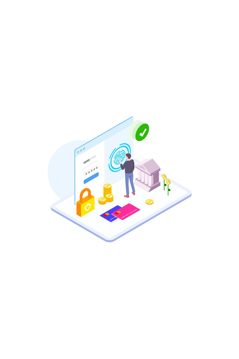 """Template Illustrazione #88867 """"Payment security 3"""""""