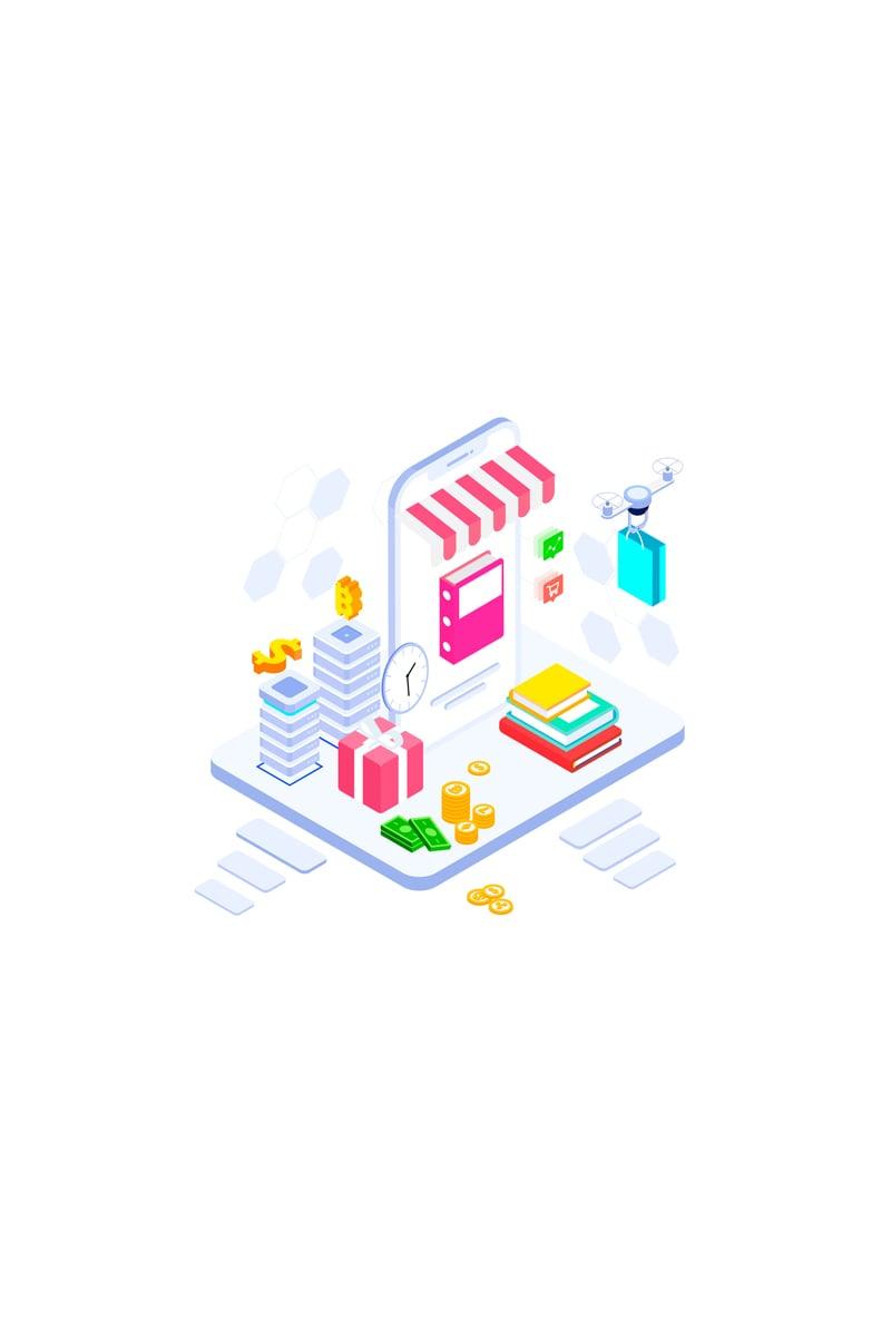 E-commerce 3 Ilustração №88920