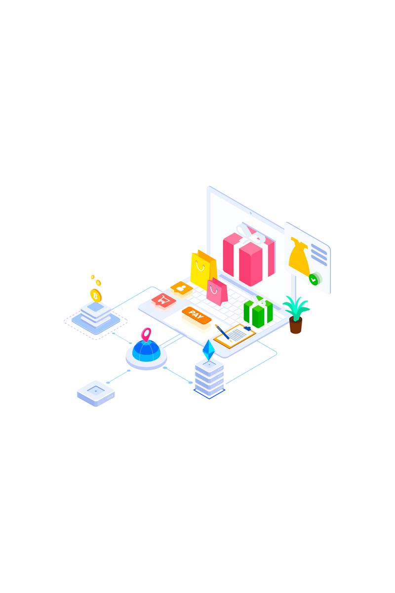 E-commerce 5 Ilustração №88918