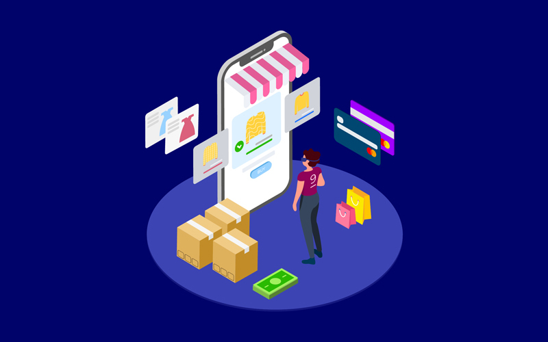 Find Information of Products with VR Isometric 1 - T2 Illustration
