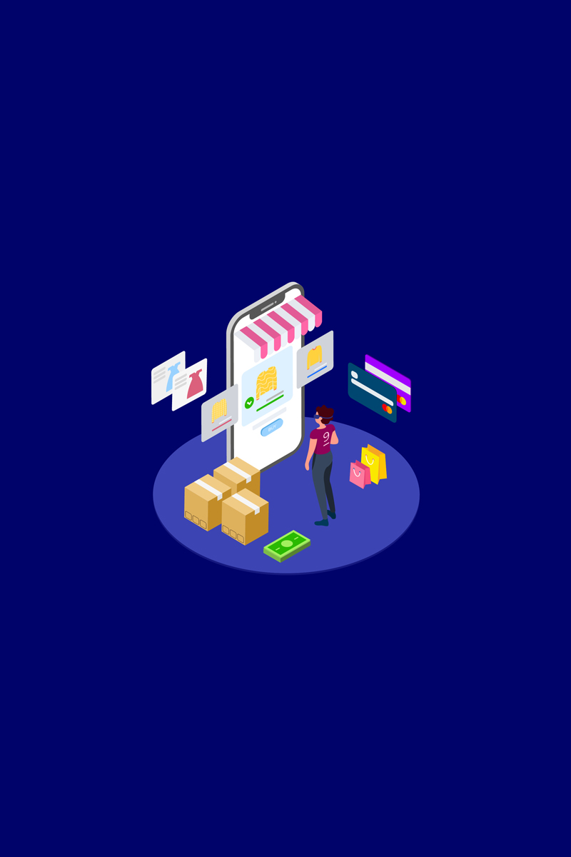 Find Information of Products with VR Isometric 1 - T2 Illustration - screenshot