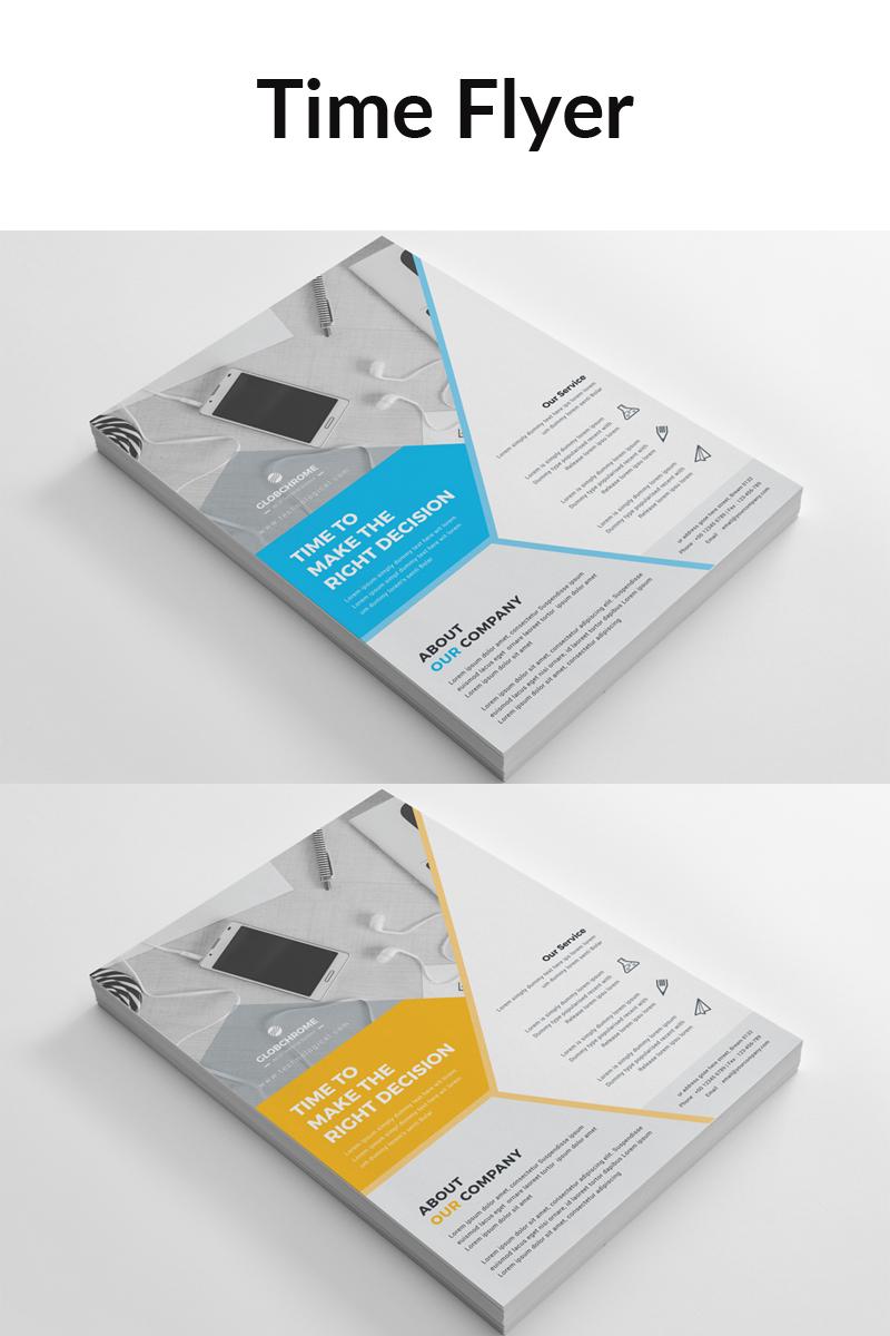 """Green Color Branding Business Flyer"" Bedrijfsidentiteit template №88908"