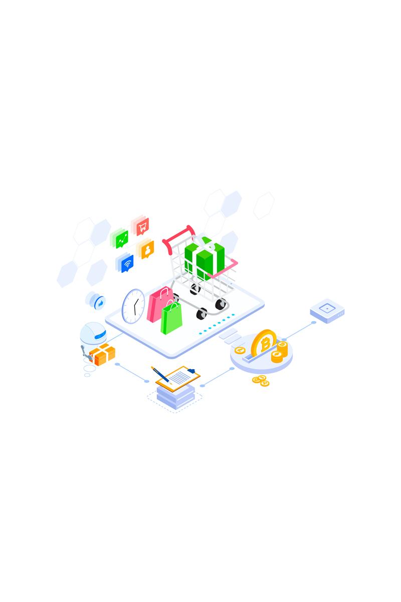 """Illustration namens """"E-commerce 2"""" #88921"""