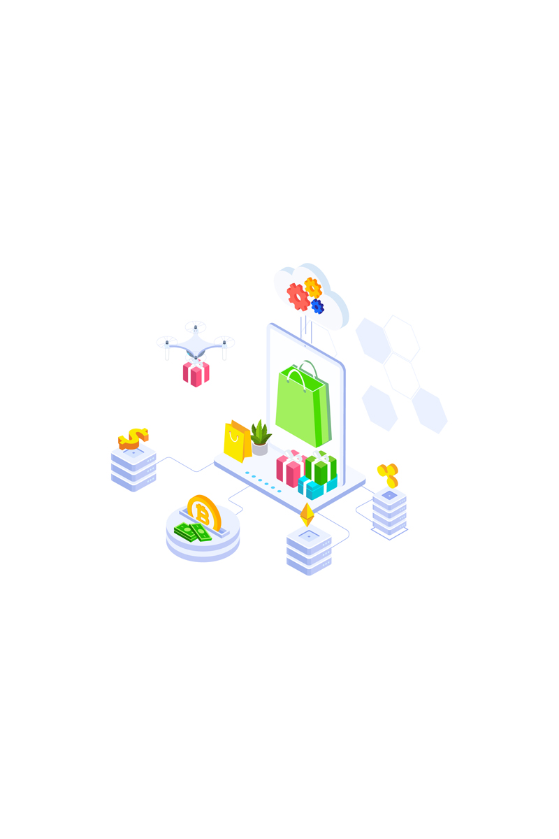 "Illustration namens ""E-commerce 6"" #88917"