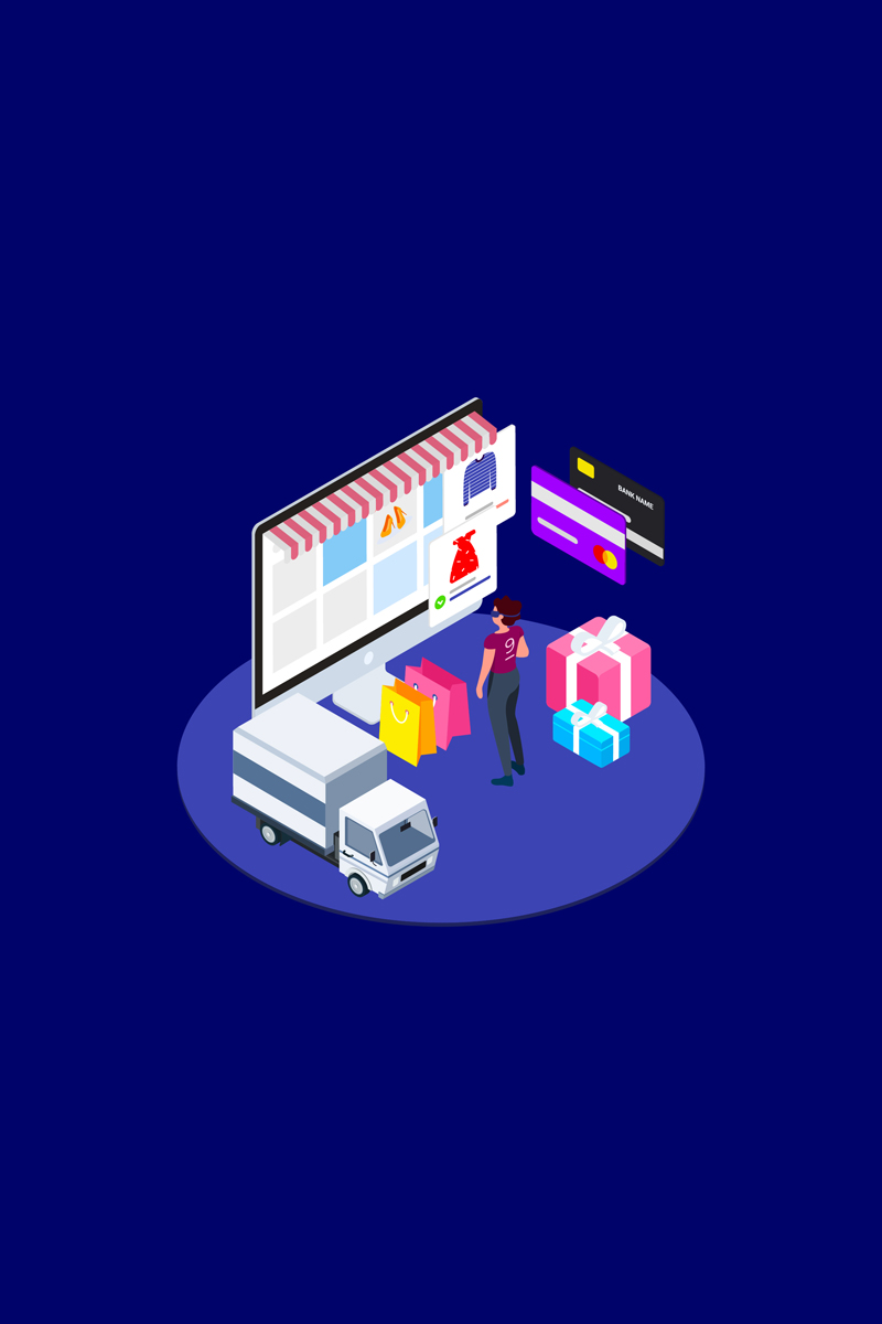 """Illustration namens """"Find Information of Products with VR Isometric 3 - T2"""" #88953"""