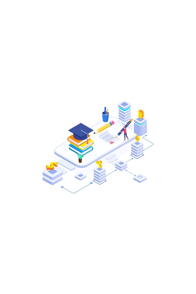 "Ilustrace ""Fund higher education 2"" #88914"