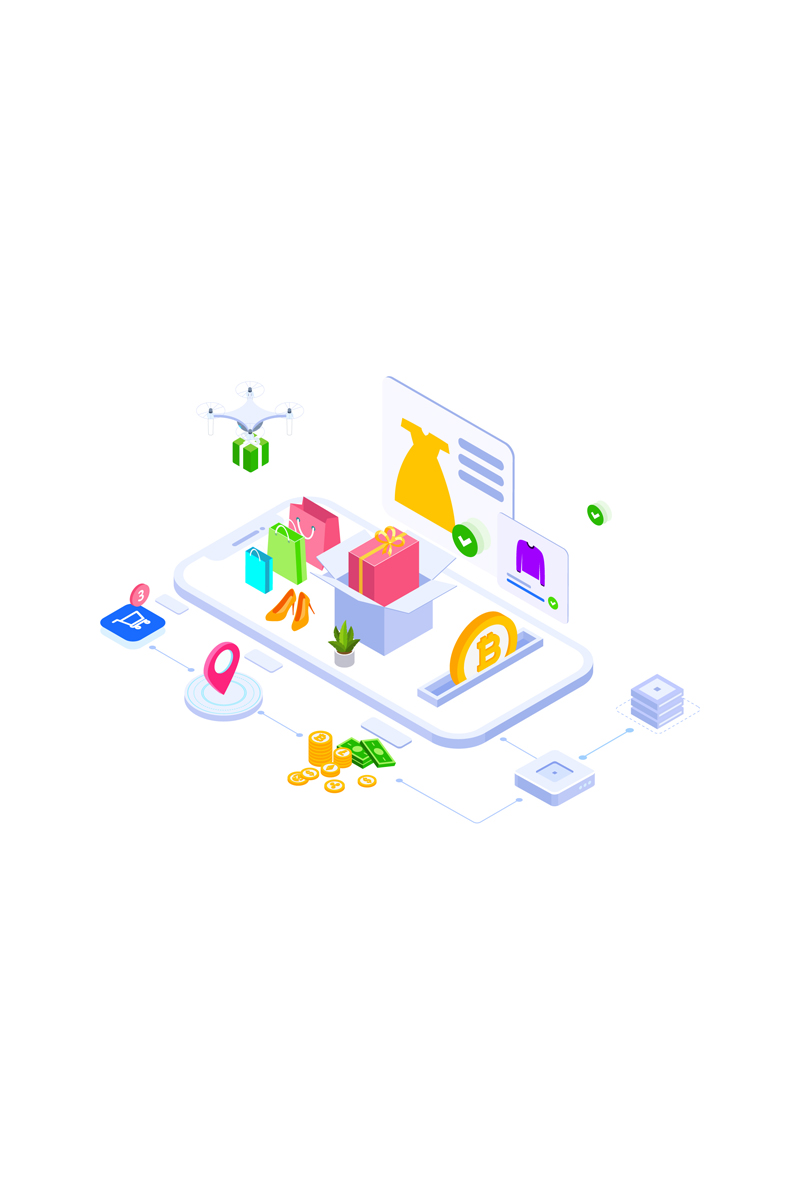 "Ilustración ""E-commerce 1"" #88925"