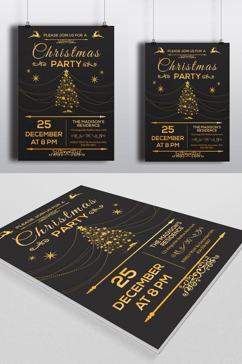 Sistec Christmas Party Flyer Kurumsal Kimlik #88907