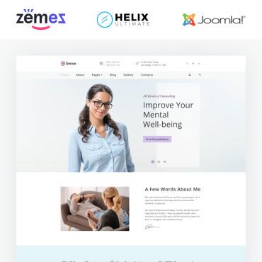 Купить  пофессиональные Joomla шаблоны. Купить шаблон #89037 и создать сайт.