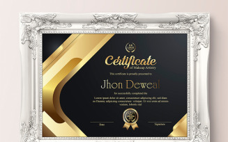 Gold Elegant & Silver Black