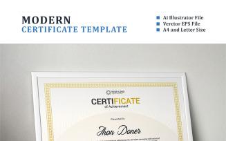 Modern Diploma, Achievement