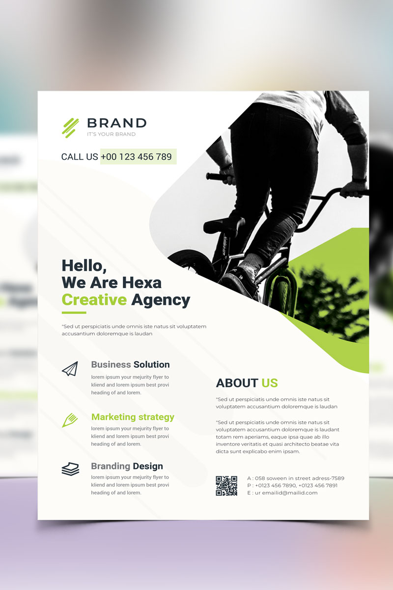 Brand - Business Flyer Vol_15 Corporate Identity Template