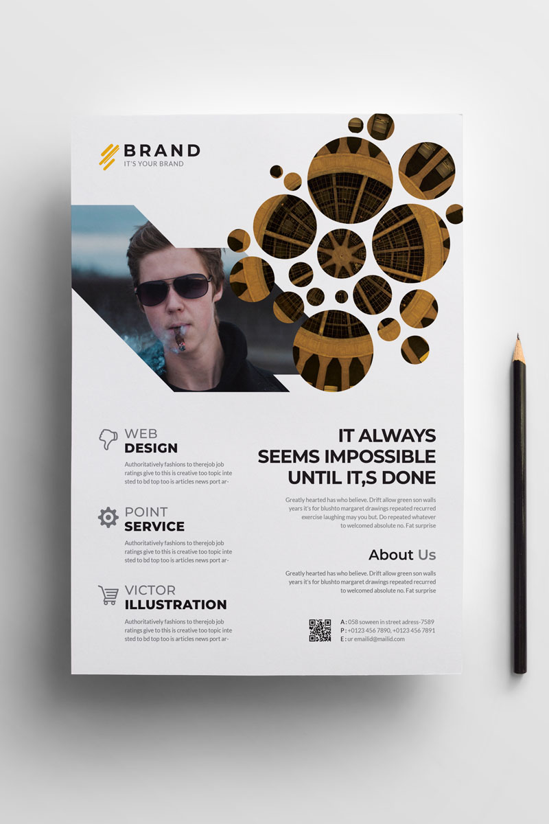 Brand - Business Flyer Vol_ 17 Corporate Identity Template