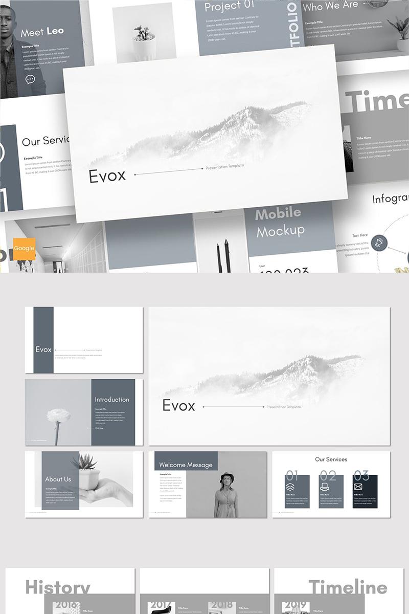 """Google Slides """"Evox"""" #89089"""