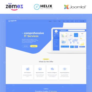Купить  пофессиональные Joomla шаблоны. Купить шаблон #89162 и создать сайт.