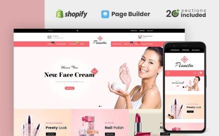 Pionita Cosmetics Store Shopify Theme
