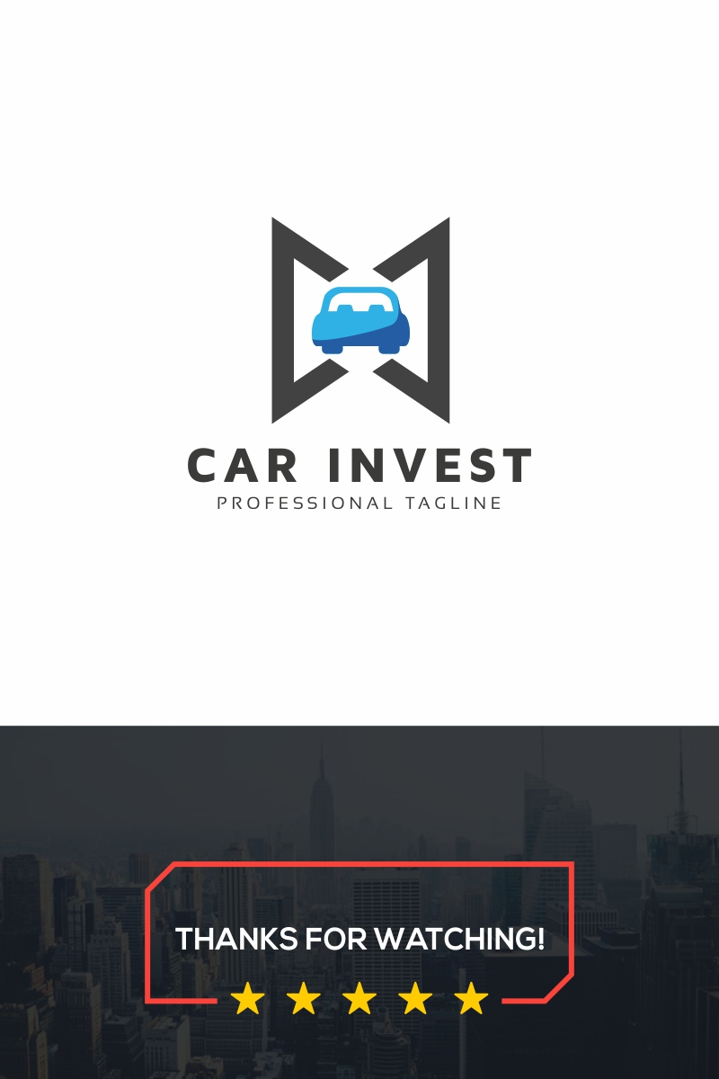 Car Invest Logo Template - screenshot