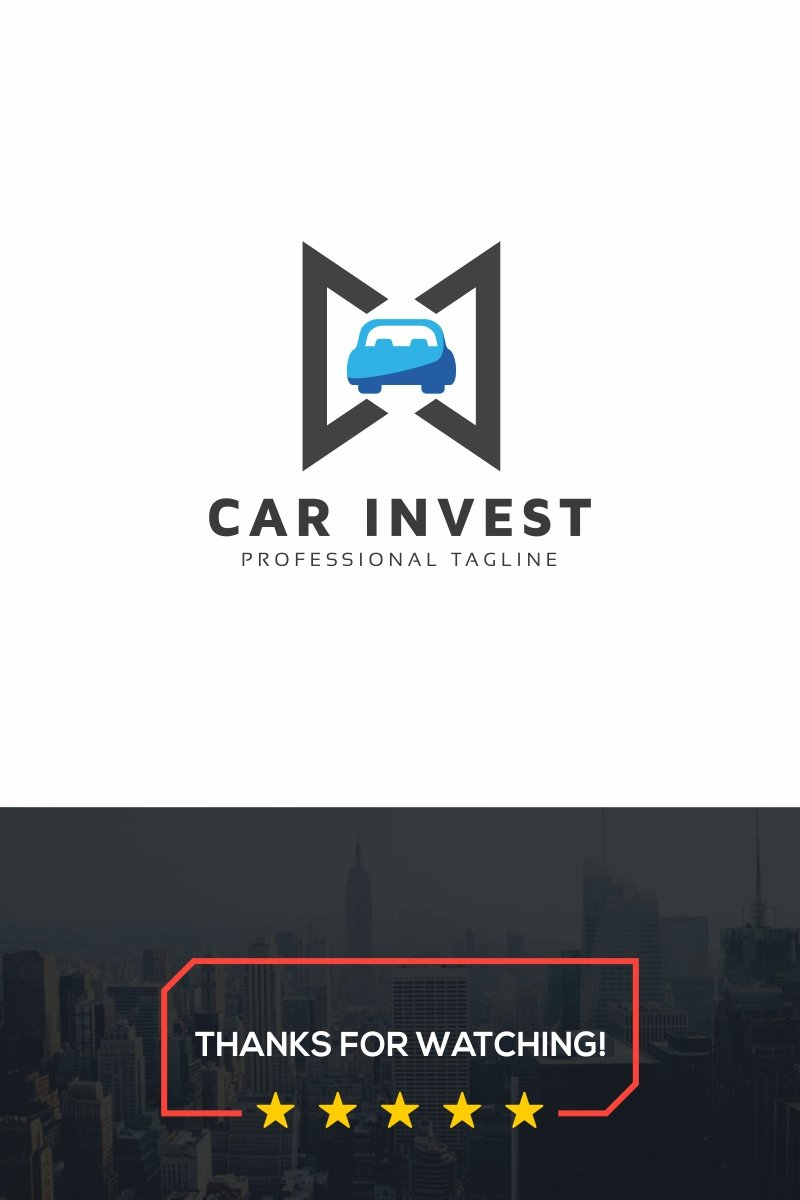 Car Invest Logo Template