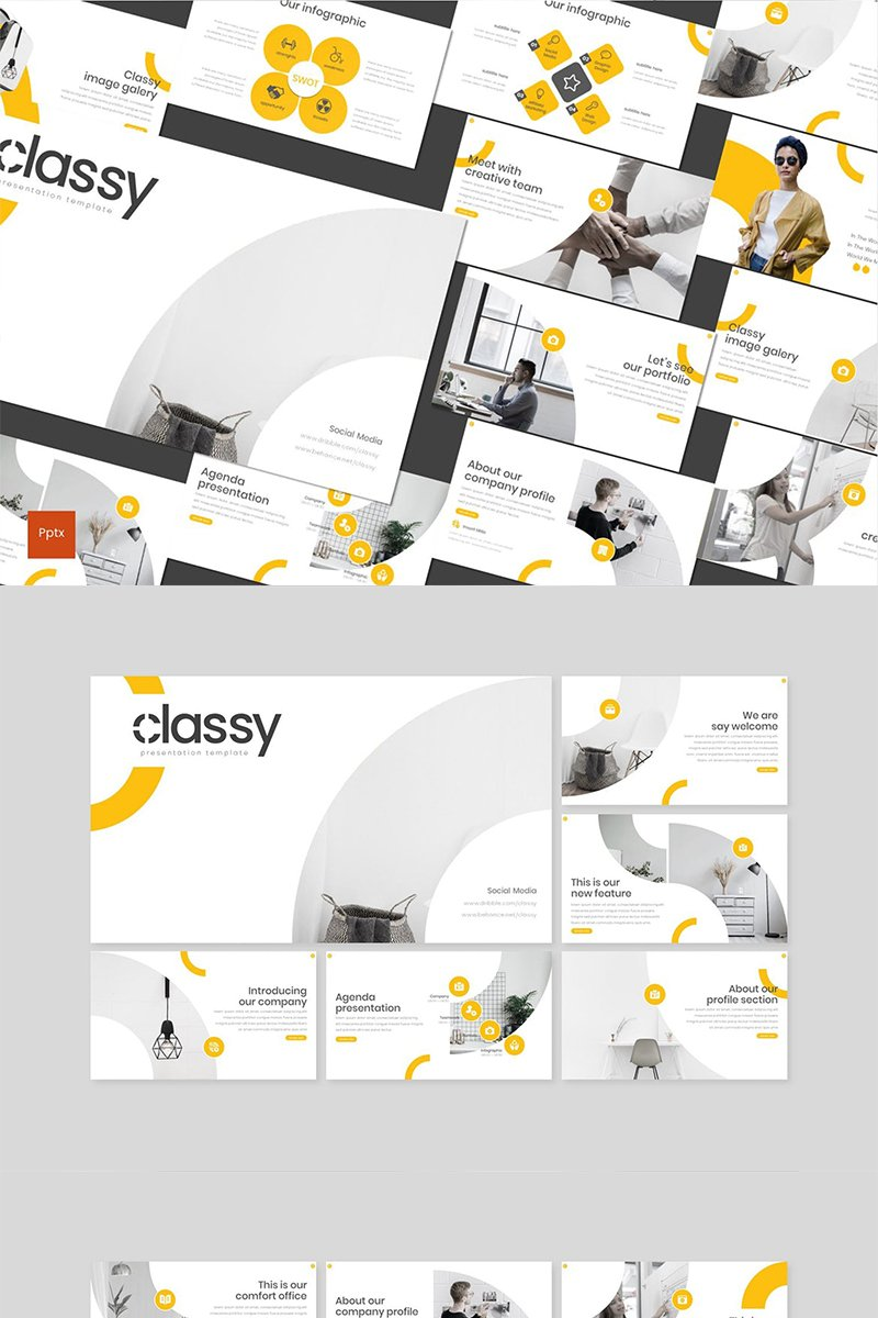 Classy PowerPoint Template